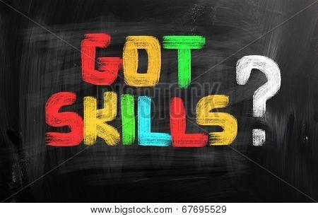 Got Skills Concept