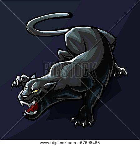 Stylized Panther