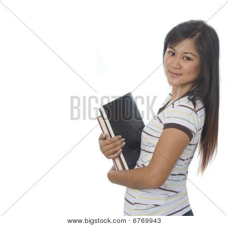 Student With Books 10