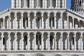 image of piazza  - Cathedral of Pisa Piazza dei Miracoli Pisa Tuscany Italy - JPG