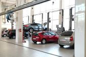 stock photo of car repair shop  - The image of car - JPG