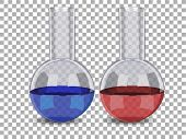 picture of tubes  - Test tube with liquid isolated - JPG