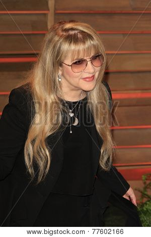 LOS ANGELES - MAR 2:  Stevie Nicks at the 2014 Vanity Fair Oscar Party at the Sunset Boulevard on March 2, 2014 in West Hollywood, CA
