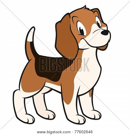 Cartoon Beagle
