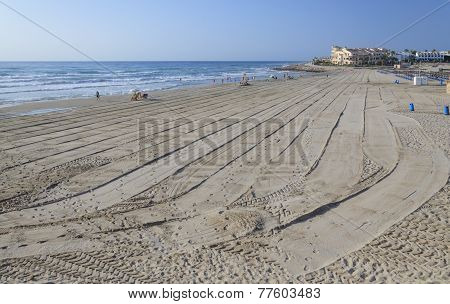 Morning On La Zenia Beach
