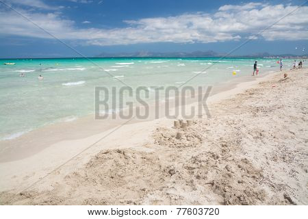 Vast Sandy Beach