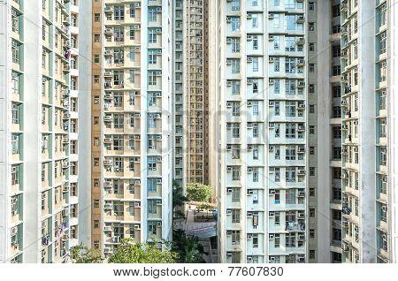 High-density Public Housing Estate, Hong Kong