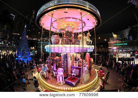 Christmas fair, Hong Kong
