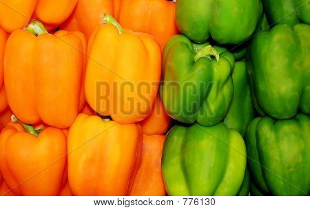 Yellow Green Peppers