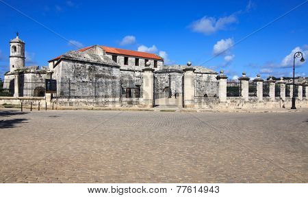 Oldest fortress in Cuba - castillo de la Real Fuerza.