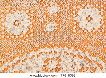 Pattern By Maltese Bobbin Lace Close Up