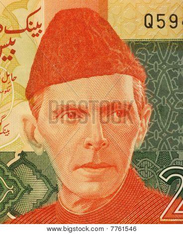 Pakistan - Circa 2007: Mohammed Ali Jinnah
