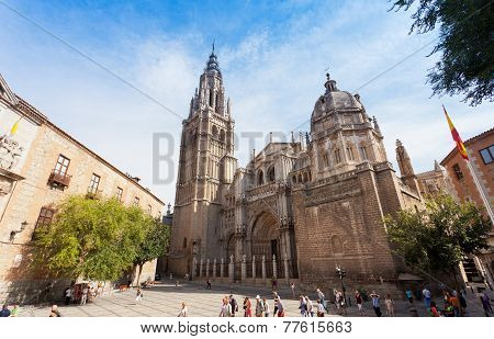 A cathedral in Toledo