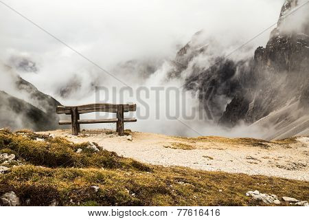 Bench For A Peaceful Rest