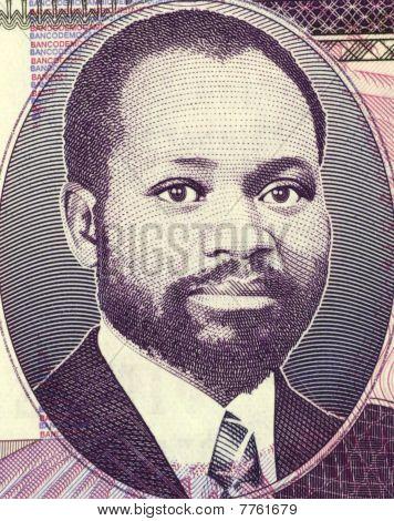 MOZAMBIQUE - CIRCA 2006: Samora Moises Machel