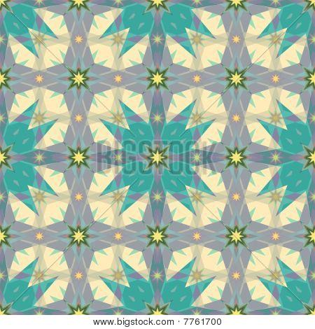 Arabesque magic stars texture