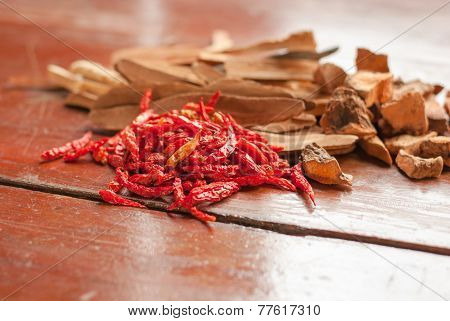The Dried Chilli (chili, Chilli, Food)