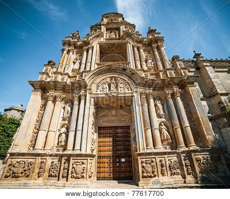 Jerez, Spain - May 02, 2014: Monastery Charterhouse of Jerez de la Frontera, Spain