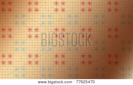 Abstract background of stars on background