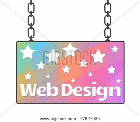 Web Design Signboard