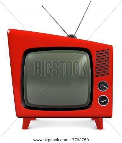 Aparelho de Tv da década de 1950