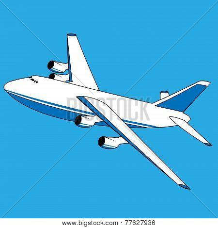 Vector Cargo Plane