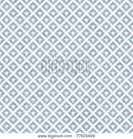 Blue And White Diagonal Squares Tiles Pattern Repeat Background