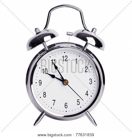 Five Minutes To Ten On An Alarm Clock
