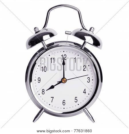 Eight Hours On An Alarm Clock