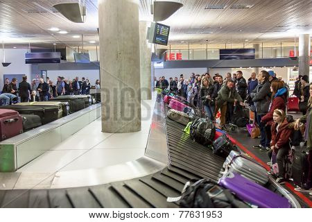 Interior Of Oslo Gardermoen International Airport