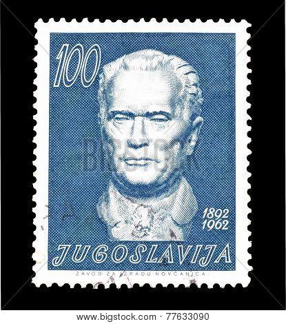 Marshal Tito stamp 1962