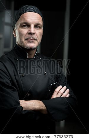 Chef Portrait With Arms Crossed