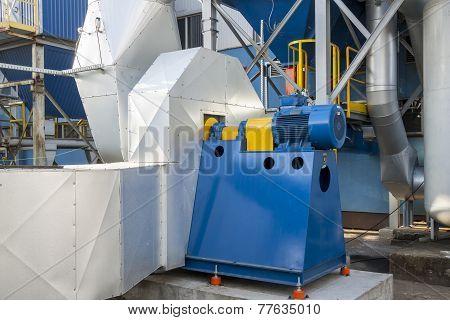 Blue Fumes Ventilator
