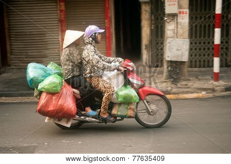 Typical Street Vendor In Hanoi,vietnam-11.jpg