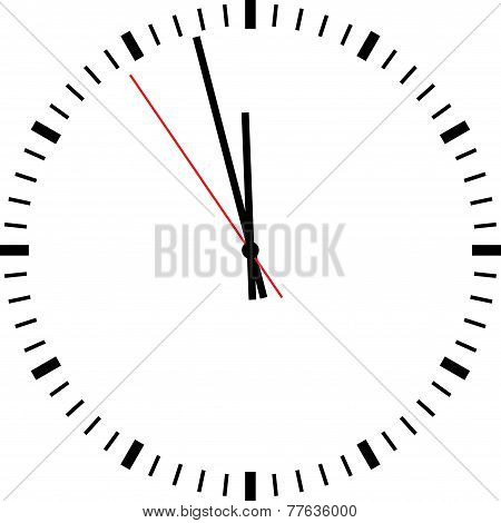 Clock isolated
