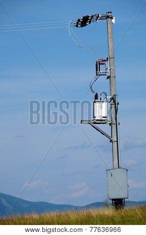 Concrete Electric Pole