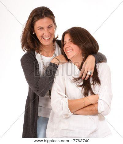 Fun Mother Daughter Relationship