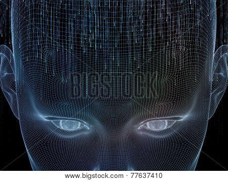Artificial Mind Illustration