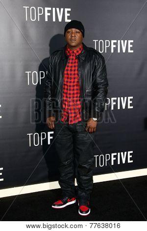 NEW YORK-DEC 3: Rapper Jadakiss attends the