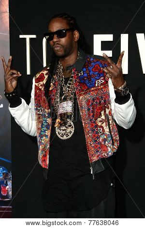 NEW YORK-DEC 3: Hip hop recording artist Tauheed Epps, aka 2 Chainz, attends the