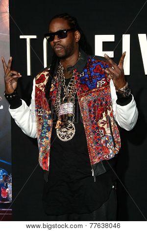 NEW YORK-DEC 3: Hip hop recording artist Tauheed Epps, aka 2 Chainz, attends the