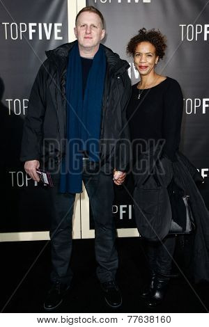 NEW YORK-DEC 3: Actor Michael Rapaport (L) and Kebe Dunn attend the