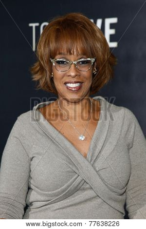 NEW YORK-DEC 3: TV personality Gayle King attends the
