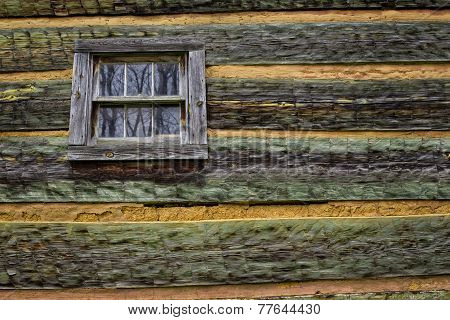 Cabin Wall, Great Smoky Mountains
