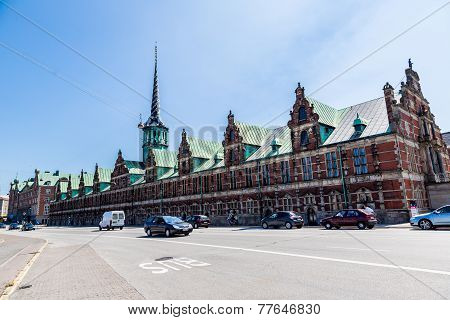 Former Stock Exchange Building  In Copenhagen, Denmark