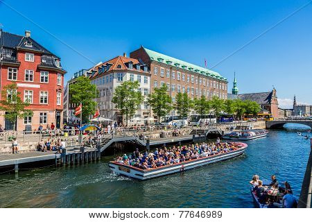 Center Of Copenhagen, Denmark