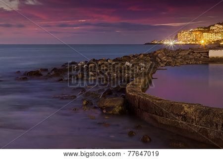 Colorfula Sunset, Gran Canaria - Long Exposure