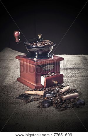 Ancient Coffee Grinder
