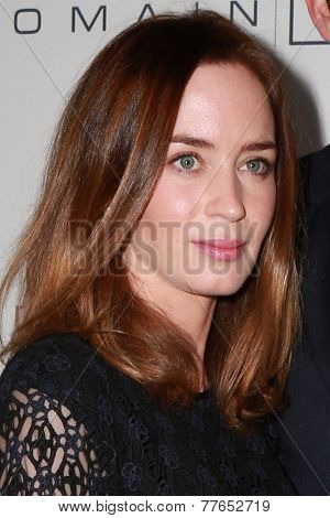 LOS ANGELES - DEC 5:  Emily Blunt at the March Of Dimes' Celebration Of Babies at the Beverly Wilshire Hotel on December 5, 2014 in Beverly Hills, CA