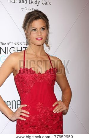 LOS ANGELES - DEC 5:  Marielle Jaffe at the 6th Annual Night Of Generosity at the Beverly Wilshire Hotel on December 5, 2014 in Beverly Hills, CA